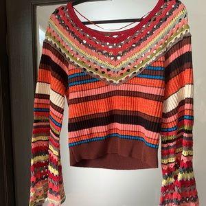 Free People Flowy Sleeve Sweater